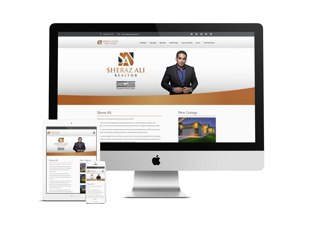 Real Estate Web design Winnipeg | Website for realtor