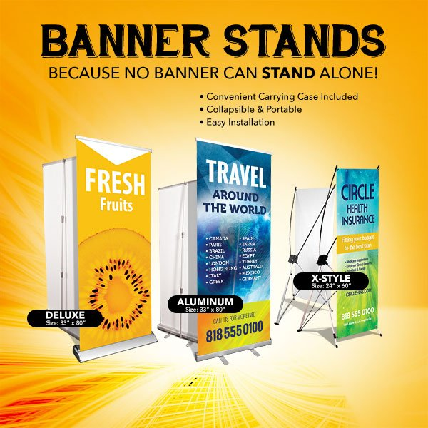Winnipeg Roll Up Banner Stands Printing